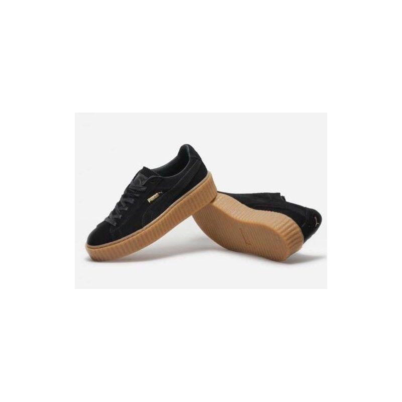 zapatillas puma de mujer suela marron