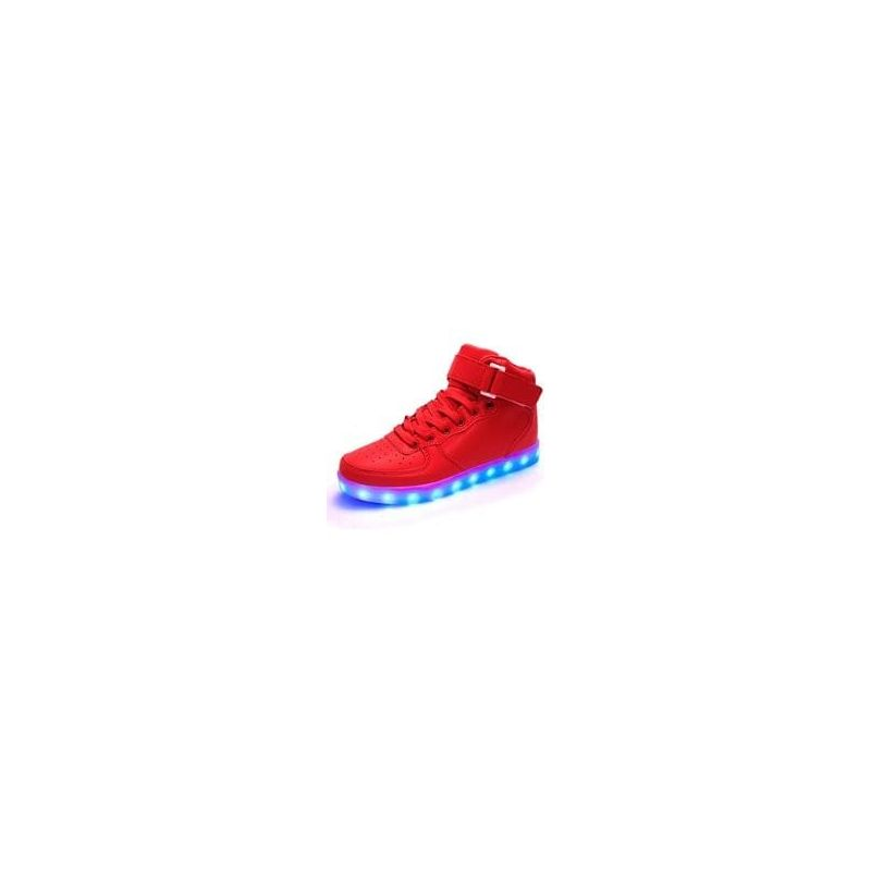 LED SHOES Hight Rojas