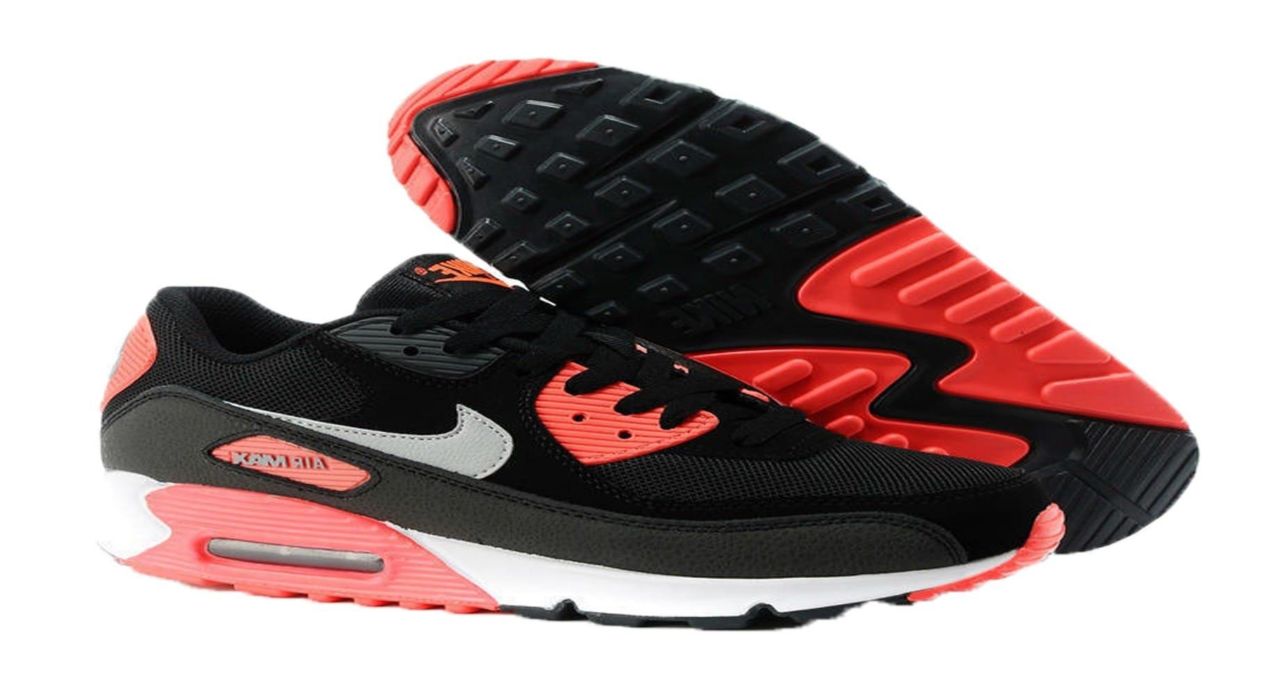 Nike Air Max Negras Y Rojas