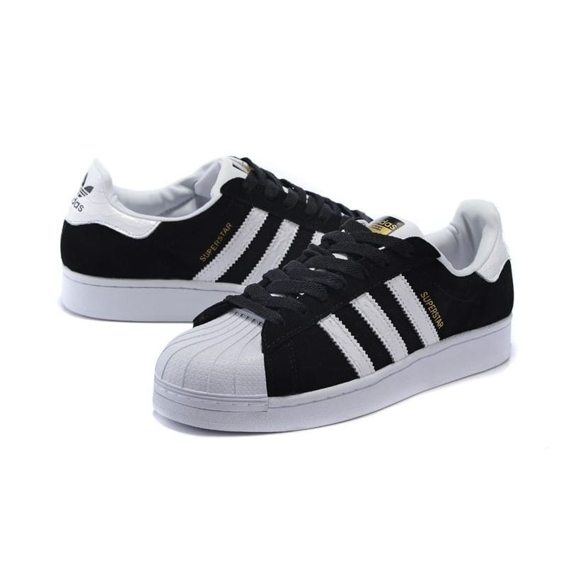 adias superstar negras