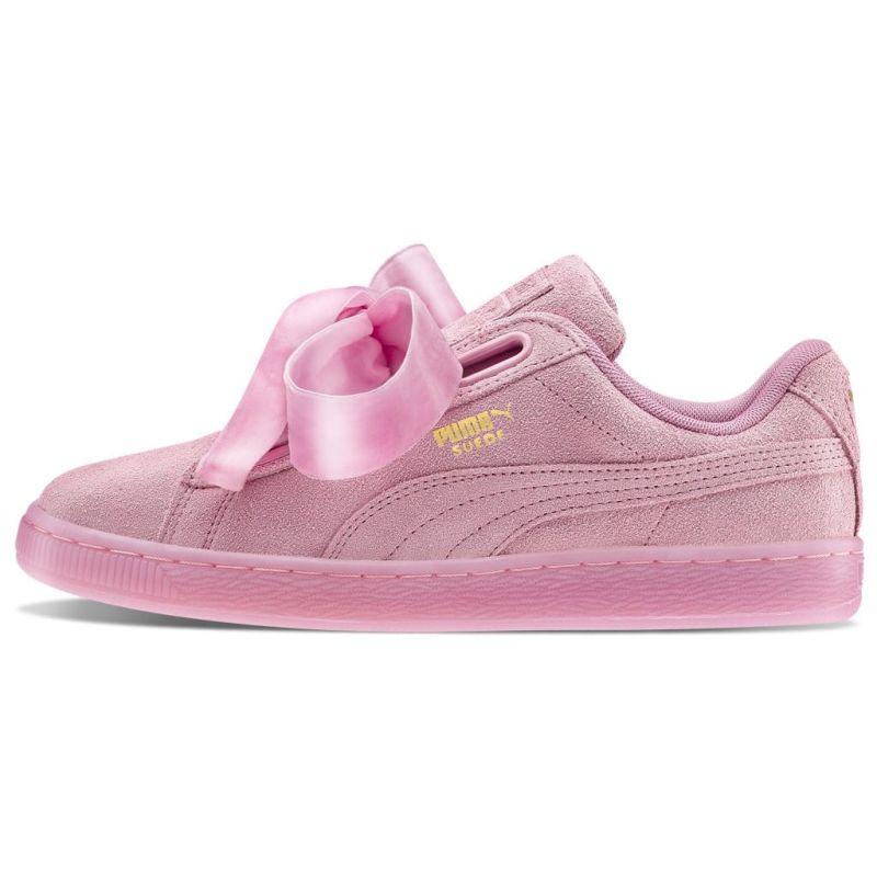 Puma Basket Heart Rosas